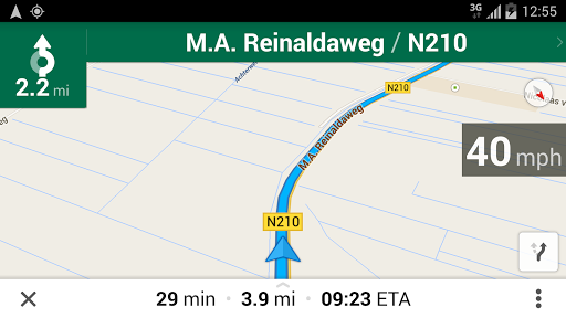 Maps Speedometer - screenshot