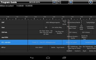 Screenshot of TVCenter for Android