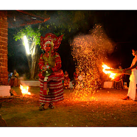 Theyyam-Kaliyattam by Madhu Payyan Vellatinkara - News & Events Entertainment ( god, entertainement, spirutual world. red )