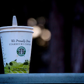 Starbucks by Ashley Pohl - Artistic Objects Cups, Plates & Utensils