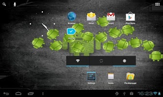 Screenshot of Free DroidLiveWallpaper