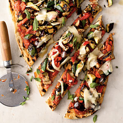 wine pizza grilled vegetable and smoked grilled pizza image 1 grilled ...