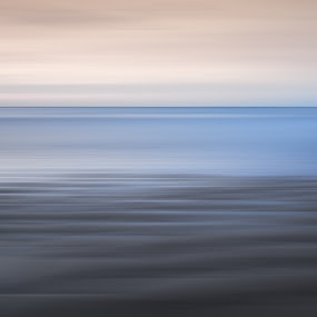 Afterlife by Dominic Schroeyers - Artistic Objects Still Life ( colors, sunset, sea, long exposure, cadzand, beach, netherlands )
