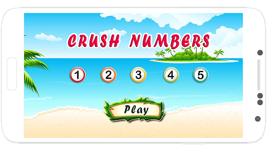 crush numbers - screenshot
