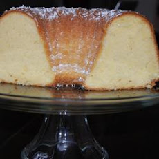 Grandma's Sour Cream Pound Cake