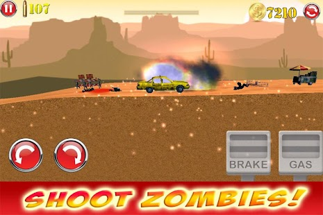 FAST HORROR ZOMBIES CAR RACING - screenshot