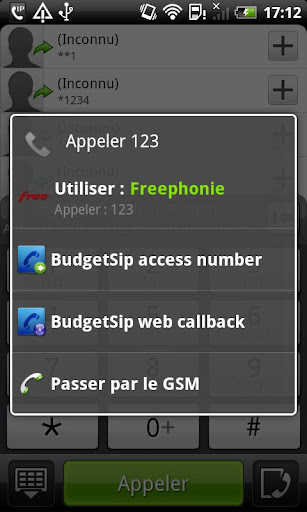 CSipSimple Betamax plugin