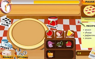 Screenshot of Pizza Mania Cook