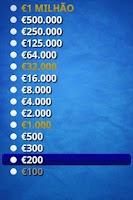 Screenshot of Quem quer ser rico?