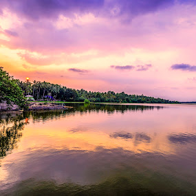 NATURE'S PAINTING by Neelakantan Iyer - Landscapes Waterscapes (  )
