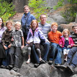 Family Portrait by Penny H - People Family ( riverside, family, outdoors, children, portrait,  )
