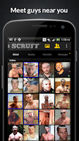 Screenshot of SCRUFF: Gay guys worldwide
