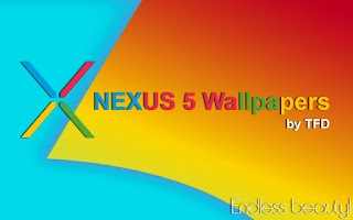 Screenshot of Nexus 5 KitKat Wallpapers