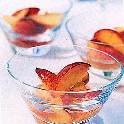 Peaches in Ginger Syrup
