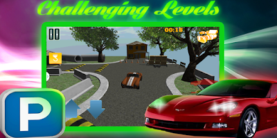 Screenshot of 3D Car Parking Challenge