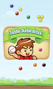 Toddler Bubble Attack - screenshot