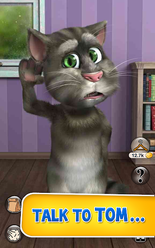 talking-tom-cat-2-free for android screenshot