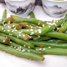 Quick Sesame Green Beans