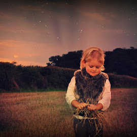 Special Night... by Claire Turner - Babies & Children Toddlers ( uk, sky, girl, stars, beautiful, summer, night, toddler )