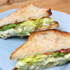 Martha's Favorite Egg Salad Sandwich