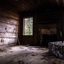Love seat by Trey Walker - Novices Only Objects & Still Life ( cabin, bando, nikon, decay, abandoned )