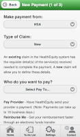 Screenshot of HealthEquity Mobile