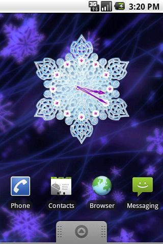 水晶雪時鐘