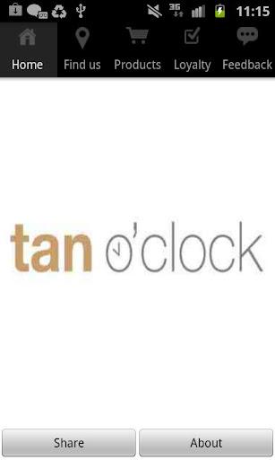 tan o'clock
