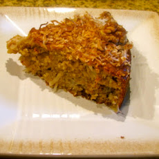 Gluten-Free Coconut Banana Cake with Walnuts