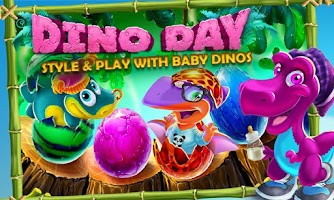 Screenshot of Dino Day! Baby Dinosaurs Game