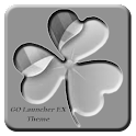 Gray GO Launcher EX Theme icon