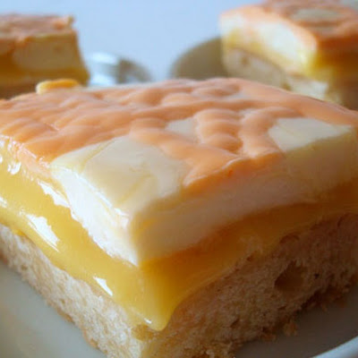 Orange Cream Bars
