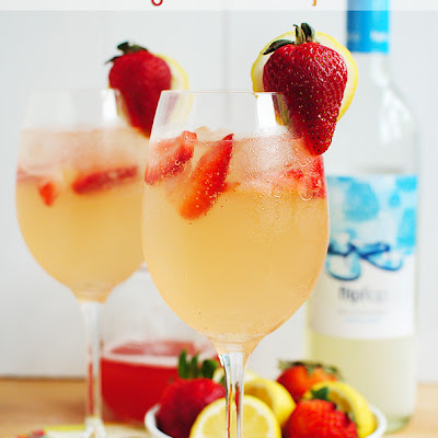 Strawberry Lemonade Spritzer