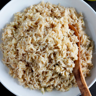 Ginger-Wasabi Brown Rice