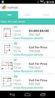 Screenshot of HotPads Apartments & Rentals