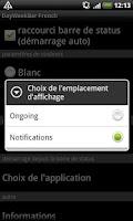 Screenshot of DayWeekBar French