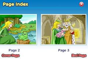Screenshot of Sleeping Beauty StoryChimes