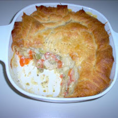 Chicken Pie for Three