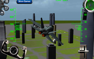 Screenshot of F18 3D Fighter Jet Simulator
