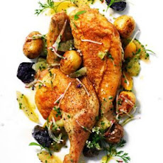 Smoky Roasted Chicken and Citrus Salsa