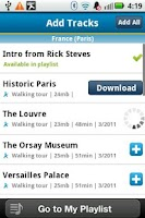 Screenshot of Rick Steves Audio Europe™