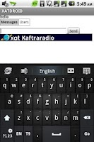 Screenshot of XATDROID