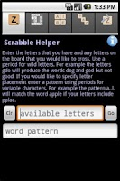 Screenshot of Word Game Cheater