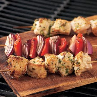 Garlic-Lemon Chicken Kabobs