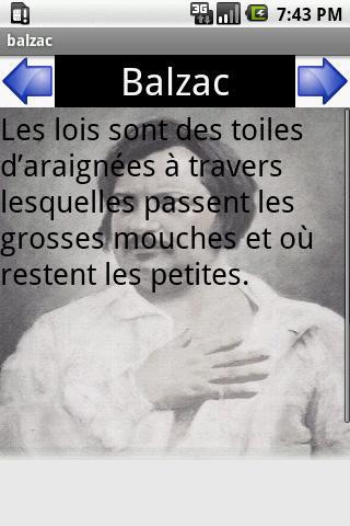 citations de Balzac