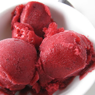 Cranberry-Orange Sorbet with Fennel Seeds