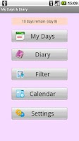 Screenshot of My Days & Diary