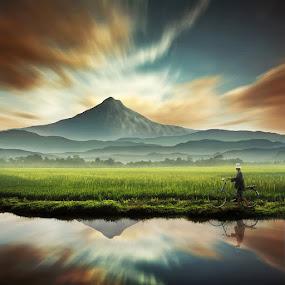 Asrinya Alamku by Ipoenk Graphic - Digital Art Places