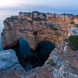 Coração da Marinha by Joel Bernardo - Landscapes Caves & Formations ( heart, sea, sunrise, rock formation )
