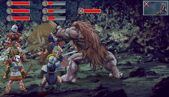 Screenshot of TOI:Fallen Knight (RPG)